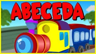 Abeceda | ABC Vlakec |  Mix otroških pesmic | Kompilacija 40 minut
