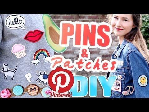 PINS & Patches I Pinterest DIY - einfach und günstig selber machen