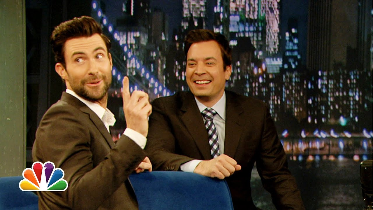 Adam Levine Does His Best Aaron Neville (Late Night with Jimmy Fallon) thumbnail