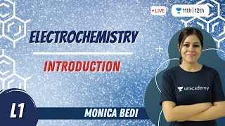 CBSE Class 12: Electrochemistry-L1 | Chemistry | Unacademy Class 11&12 | Monica Bedi - Download this Video in MP3, M4A, WEBM, MP4, 3GP