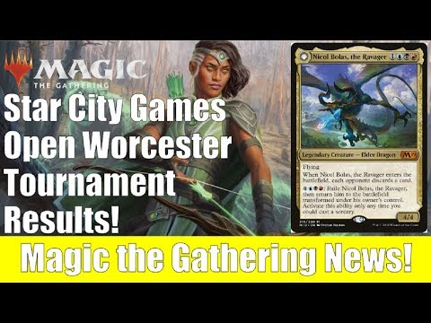 MTG SCG Open Worcester Tournament Results and Decklists