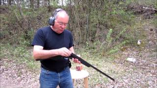 Fusil Baïkal monocoup MP-18 calibre 12