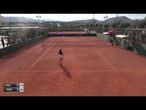 Oliynykova Oleksandra v Hoste Ferrer Claudia - 2019 ITF Heraklion