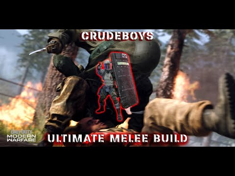 ULTIMATE WARZONE MELEE LOADOUT