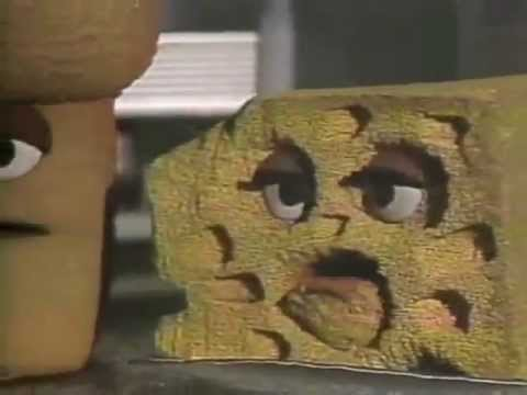 Classic Sesame Street - Foods cooperate to make a sandwich