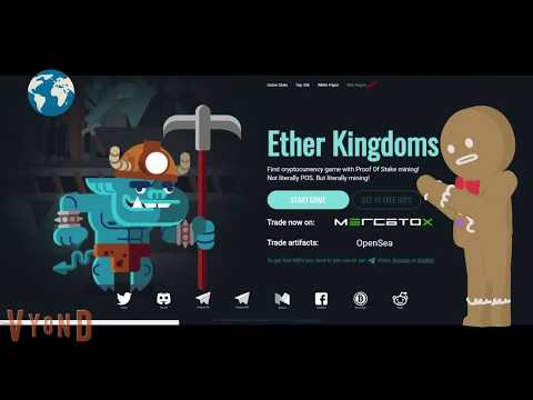 Ether Kingdoms крипто игра на которой можно заработать криптовалюту