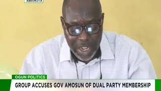 Group accuses Amosun of dual Membership