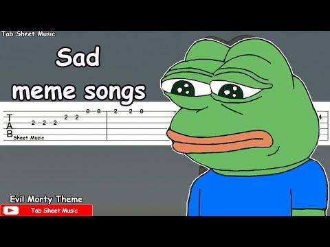 Sad Meme Songs Guitar Tutorial