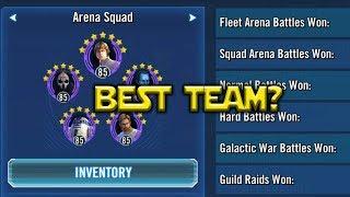 Star Wars: Galaxy Of Heroes - Best Team Triple Zeta CLS Luke