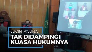 Lucinta Luna Tak Didampingi Kuasa Hukum di Sidang Perdana