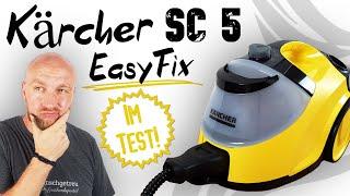 Kärcher Dampfreiniger SC 5 Easyfix Test ► Was ein Klopper! ✅ Wir haben ihn gecheckt!   Wunschgetreu