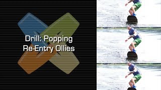 #1 Boat Wakeboard Intermediate – Drill popping re-entries