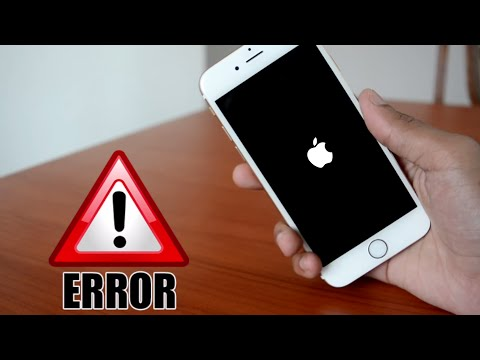 Video FIX : IPHONE NOT TURNING ON/STUCK IN BOOT LOOP/FORGOT PASSCODE  - iOS 10 and below ALL IPHONE ERRORS