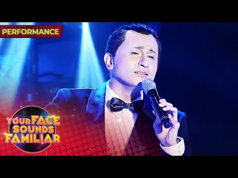 [PH Show]   CJ Navato as Frank Sinatra | Fly Me to the Moon | Your Face Sounds Familiar 2021