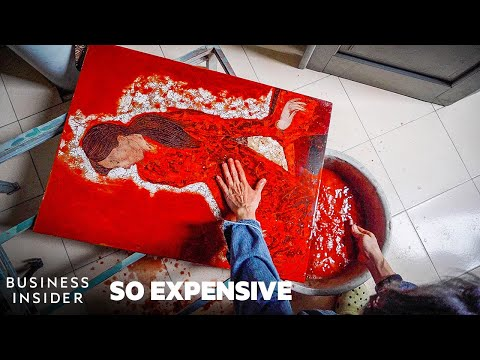 Why Sơn Mài Painting Is So Expensive | So Expensive