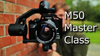 canon m50 cinematic settings - TH-Clip