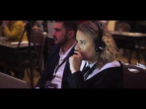 International expo emigration and luxury property Kiev - video backstage