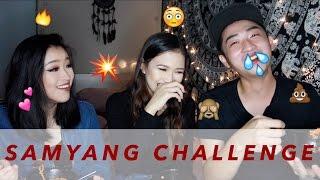 Samyang Noodle Challenge ft Cindercella & William Louis | Sara Robert