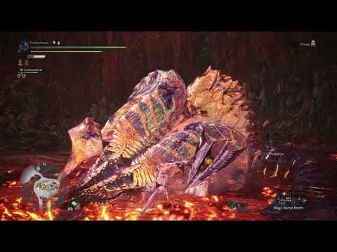 MHWorld - Arch Tempered Kulve Taroth (Level 5) - Lance Solo - 12'23