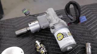 """EPAS performance Electric Power Steering Kit, Fox Body Mustang """"How To """"Install video"""