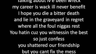 You are my enemy - Hopsin
