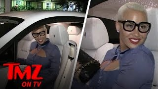 How Did Amber Rose Get Her Booty  TMZ TV