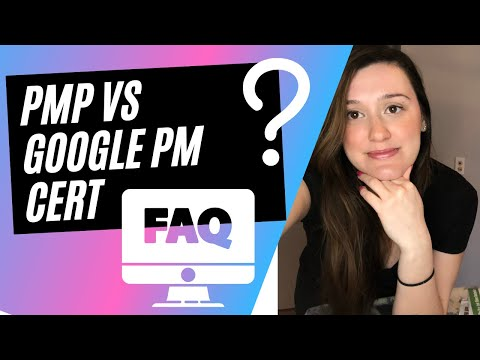 PMP vs Google PM Certificate- Answering YOUR Google Project ...