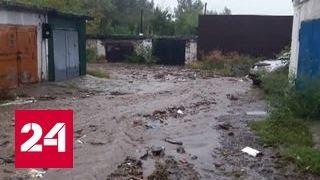 """Потоп в Красноярске: синоптики не обещают прекращения """"тропического ливня"""""""