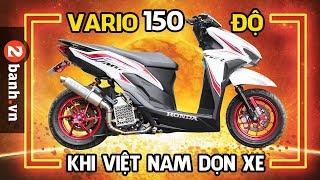 Khi Việt Nam Dọn Vario 150 độ   Modifikasi Honda Vario 150