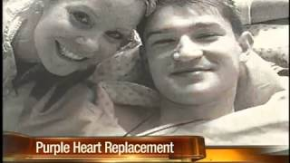 Purple Heart given to woman whose son's medal was thrown out