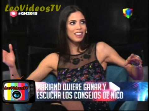 Nico aconseja al nuevo Mariano GH 2015 #GH2015 #GranHermano