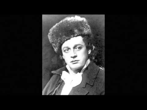 С.Лемешев - Тоска (Ария Каварадосси из 3-го действия)