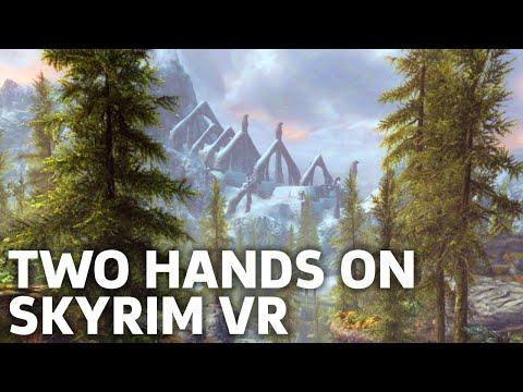 28 Minutes of  Skyrim VR Gameplay