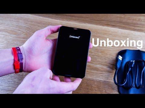 Intenso Externe Festplatte 1TB USB 3.0 Unboxing-Ruben Orfeo 4K