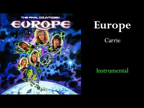 Europe - Carrie (Instrumental)