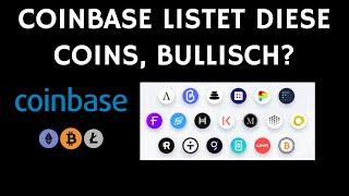 Liste der krypto, die zu coinbase kommen