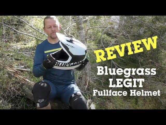 Видео Шлем Bluegrass Legit Carbon RED METALLIC BLACK