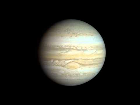 Voyager 1 Jupiter approach movie