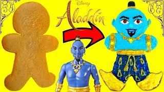 Aladdin 2019 Genie Inspired Gingerbread Man Cookie Decoration