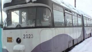 Tramvaie Oradea new 001 wmv - Самые лучшие видео