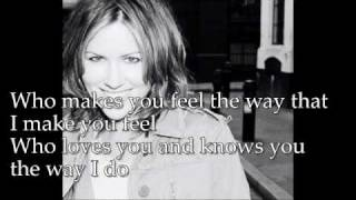 Dido - Who Makes You Feel lyrics