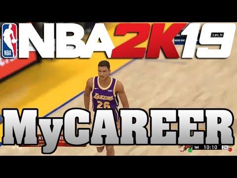 NBA 2K19 My Career Offline - 50 POINTS AS THE NEW STARTER