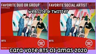 [VOTE] Cara Vote BTS di AMAs 2020   American Music Award
