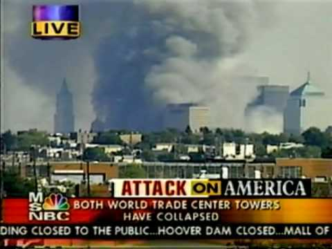 Woolworth building - footage during 9/11