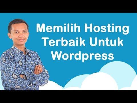 Memilih hosting terbaik untuk wordpress