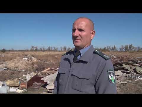 Управлением Россельхознадзора выявлены несанкционированные свалки на землях сельскохозяйственного назначения в Ростовской области
