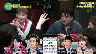 [ENGSUB] 171110 tvN Life Bar EP44 with Super Junior - Super Sisters 💙
