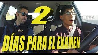 ¡2 DÍAS ANTES DEL EXAMEN!Dander recibe su última clase de conducir/manejo|Carnet de conducir.Parte 1