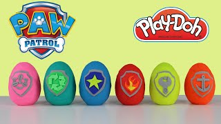 Play-Doh Surprise Kinder Eggs Paw Patrol Toys Opening Ckn Toys