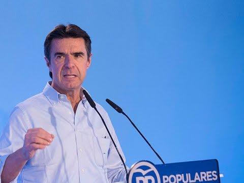 José Manuel Soria: Industria, Energía y Turismo, factores de competitividad